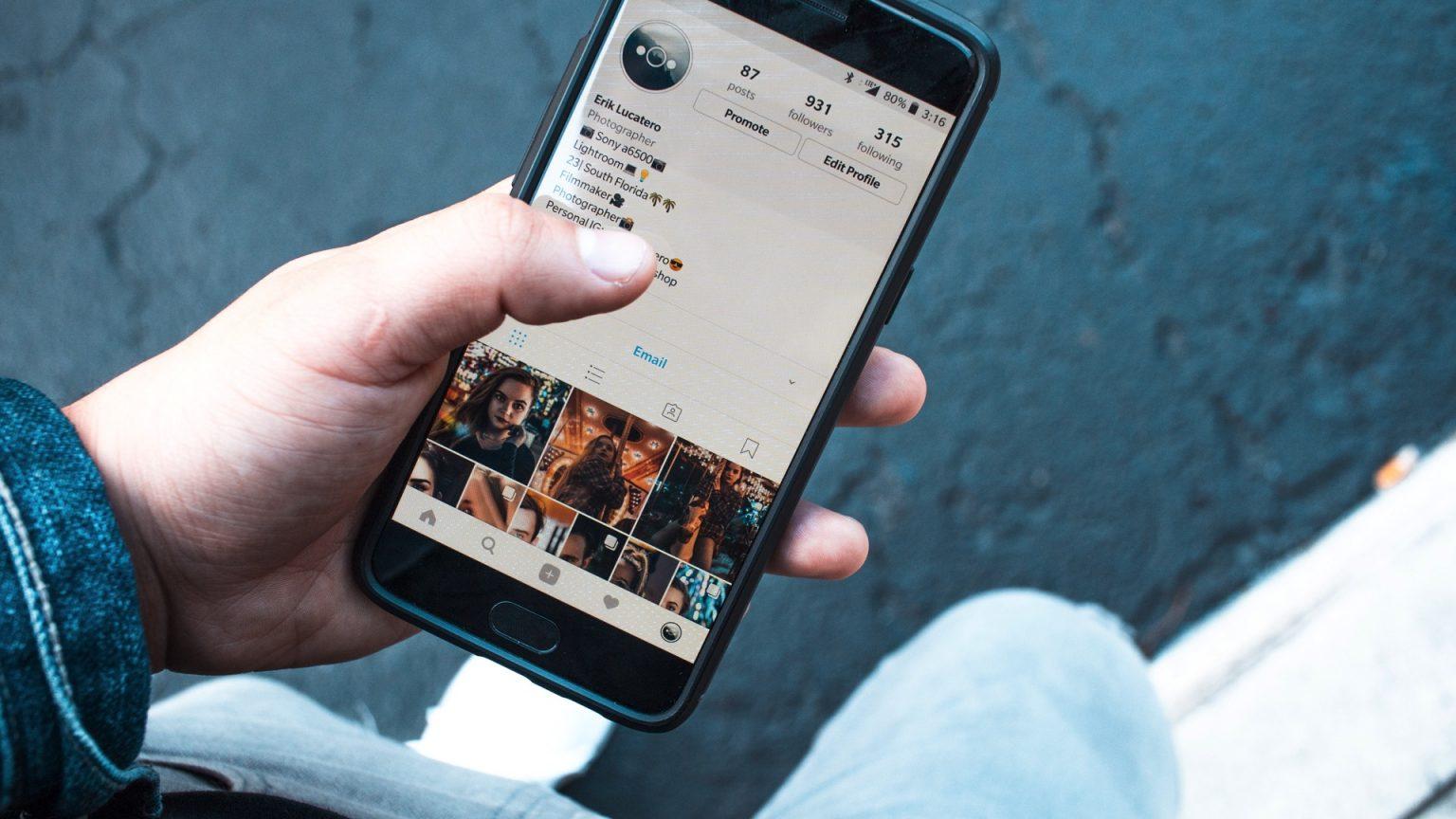 10 errores en instagram